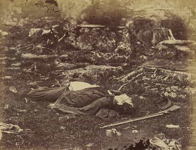 Gardner Manipulated His ... is listed (or ranked) 3 on the list Turns Out These Famous Snapshots From The Civil War Were Staged By The Photographer