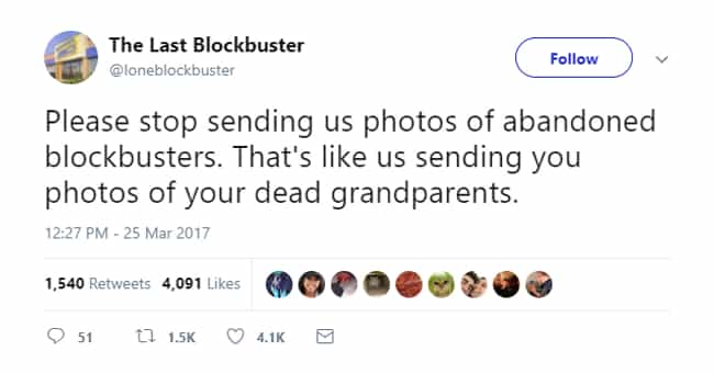 Have A Little Heart, Int... is listed (or ranked) 3 on the list The World's Last Blockbuster Is Alive And Sharing The Most Hilarious Tweets