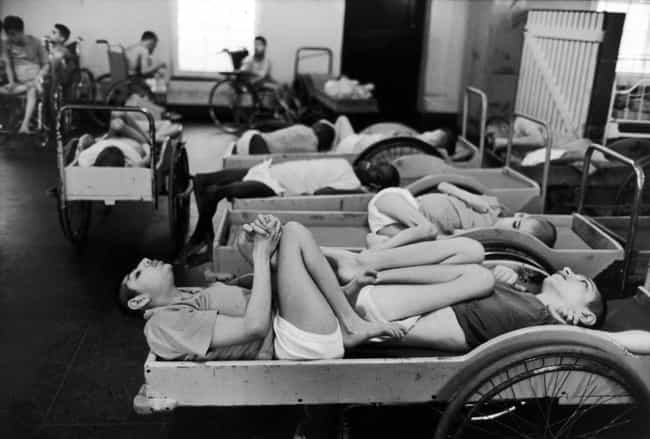 Patients Were Kept In Cramped,... is listed (or ranked) 2 on the list Conditions At The Willowbrook Mental Asylum Were So Deplorable They Changed Federal Policy