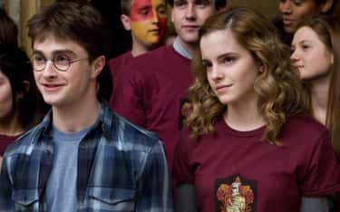 Harry And Hermione Don't Constantly Argue