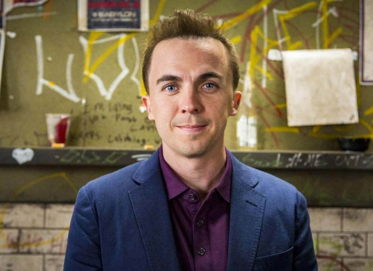 Frankie Muniz –Now is listed (or ranked) 2 on the list Here's What Happened To The Child Actors From Your Favorite Early '00s Movies