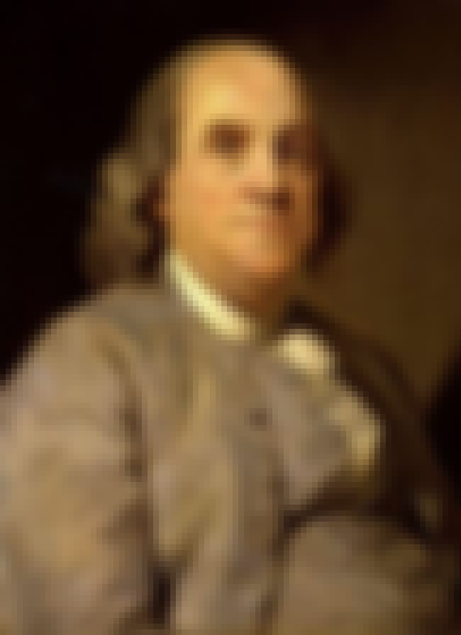 """But Some, Like Benjamin Frankl... is listed (or ranked) 4 on the list """"All American"""" Ideas The Founding Fathers Completely Ripped Off From Native Americans"""