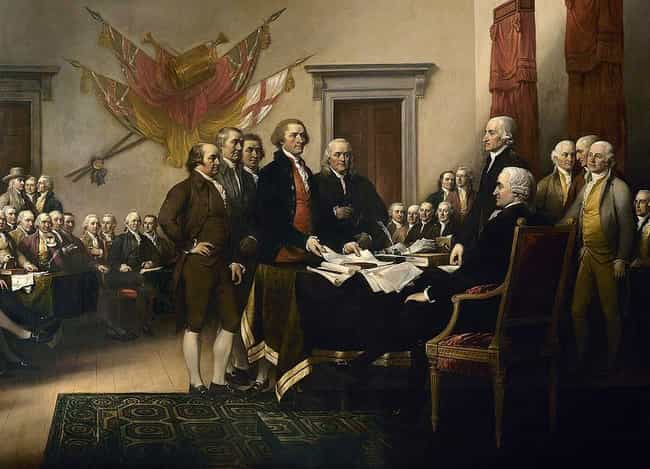 "The Founding Fathers Stole Pol... is listed (or ranked) 1 on the list ""All American"" Ideas The Founding Fathers Completely Ripped Off From Native Americans"