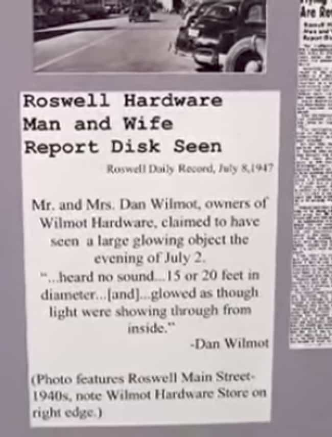 Eyewitness Testimonies is listed (or ranked) 3 on the list The Craziest Things On Display At The International UFO Museum In Roswell, New Mexico