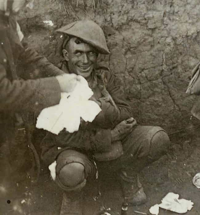The Eyes Of Madness is listed (or ranked) 1 on the list 15 Harrowing Photos of Soldiers In Complete Shell Shock