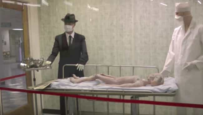 Life-Sized Model Of An Alien A... is listed (or ranked) 1 on the list The Craziest Things On Display At The International UFO Museum In Roswell, New Mexico