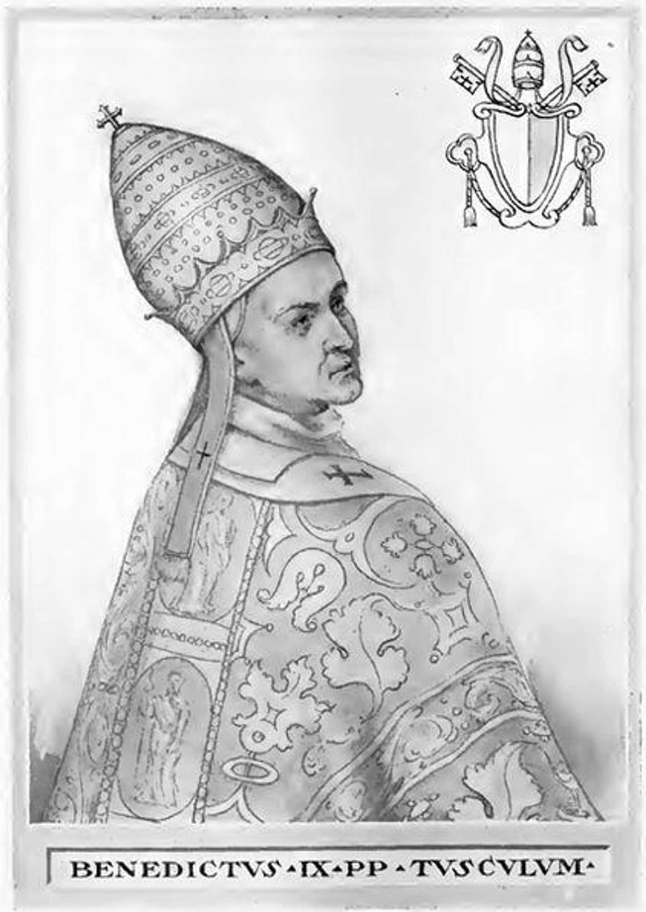 An Army Of Romans Forced Bened is listed (or ranked) 4 on the list The Violent, 20-Year-Old Maniac Who Became Pope Three Separate Times