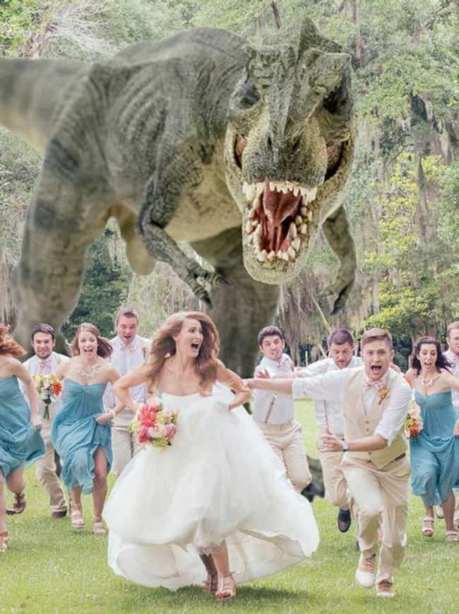 When That One Bridesmaid Takes... is listed (or ranked) 4 on the list These Couples Re-Created Movie Scenes For Their Engagement Photos, And They're Absolutely Brilliant