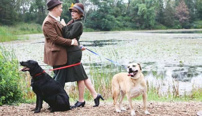Best 101 Dalmatians Themed Pho... is listed (or ranked) 3 on the list These Couples Re-Created Movie Scenes For Their Engagement Photos, And They're Absolutely Brilliant