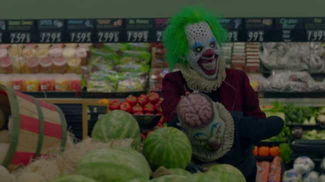 The Clowns Know All Of A... is listed (or ranked) 3 on the list Ally On 'AHS: Cult' Has Dissociative Identity Disorder And Is Scaring Herself, And We Can Prove It