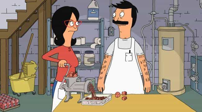 So... Cannibals? is listed (or ranked) 1 on the list The Original Premise For Bob's Burgers Was Much Darker And Incredibly Disturbing