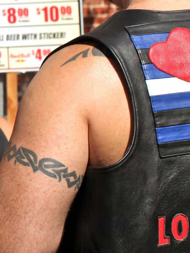 Your Classic Basic Bro Bicep is listed (or ranked) 1 on the list Basic Bro Tattoos That Make Spotting Bros In The Wild Even Easier