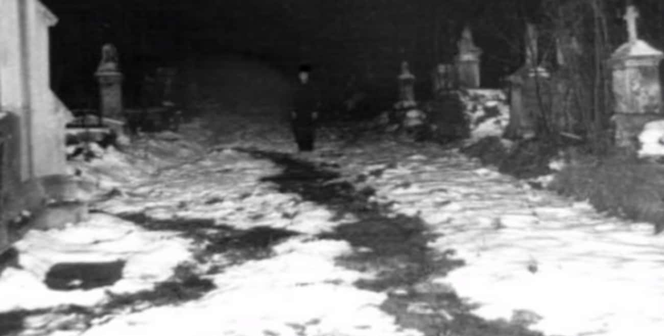 Locals Reported Strange Sighti is listed (or ranked) 1 on the list On Friday The 13th, 1970, A Mass Of Londoners Hunted A 'King Vampire' In Highgate Cemetery