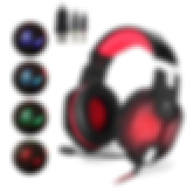 EasySMX Color-Changing Gaming ... is listed (or ranked) 3 on the list Cool Headphones To Get You In Your Optimal Headspace