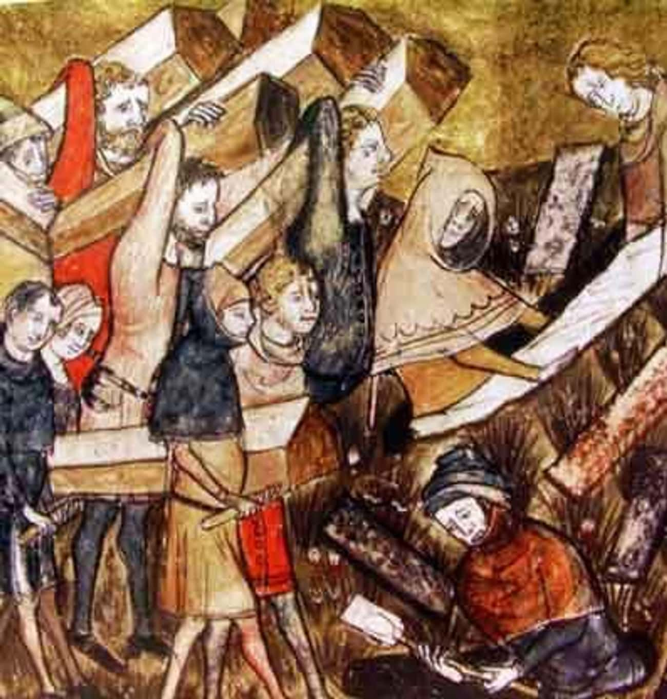 Corpses Piled Up During the Black Death