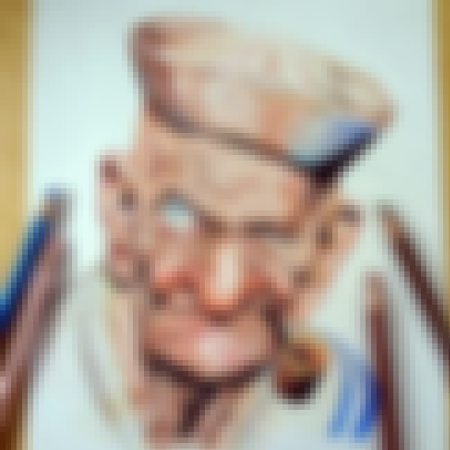 Popeye The Sailor Man is listed (or ranked) 3 on the list Here's What 23 Of Your Favorite Cartoon Characters Will Look Like In Their Old Age