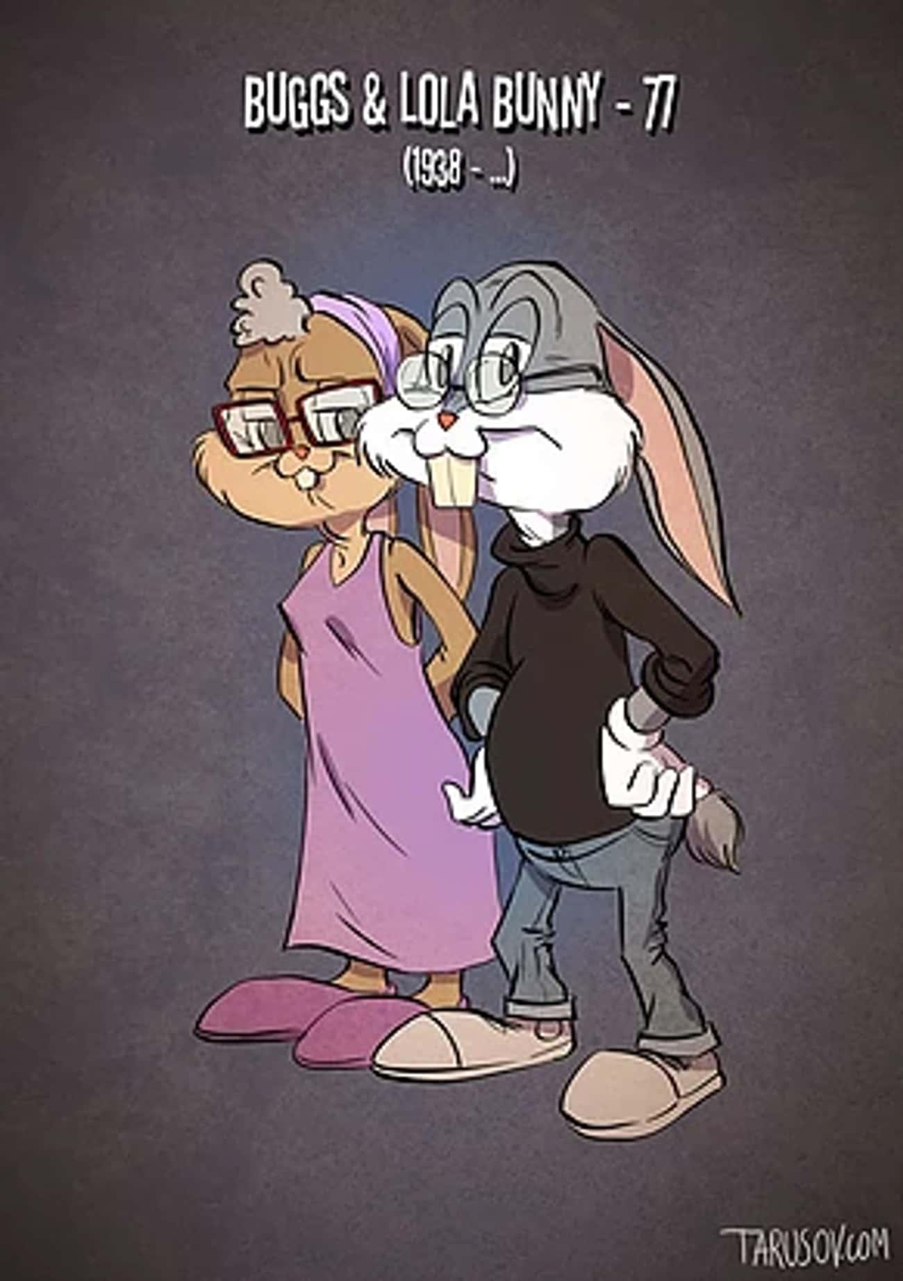 Bugs And Lola Bunny