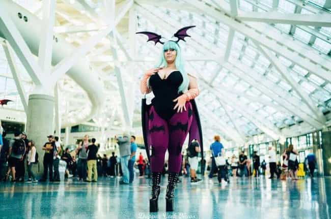 Morrigan From Darkstalke... is listed (or ranked) 4 on the list This Incredibly Sexy Cosplay From Nana Bear Will Prove To You Why She's The Internet's Favorite