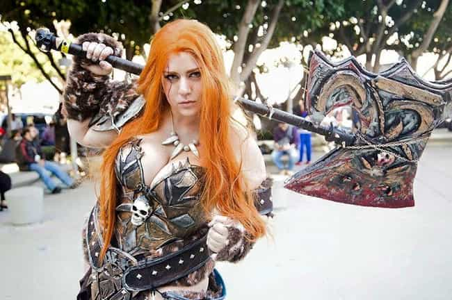 Barbarian From Diablo is listed (or ranked) 2 on the list This Incredibly Sexy Cosplay From Nana Bear Will Prove To You Why She's The Internet's Favorite