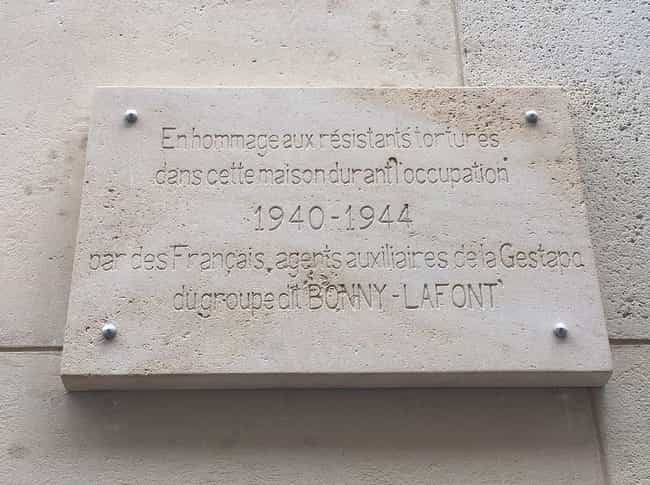 He Was A Member Of The French ... is listed (or ranked) 3 on the list The Insane Exploits Of Pierre Loutrel, A Psychotic Criminal And Member Of The French Gestapo