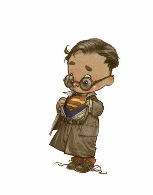 This Baby Version Of Cla... is listed (or ranked) 4 on the list This Artist Reimagines Superheroes As Children, And The Results Are Too Cute For Words