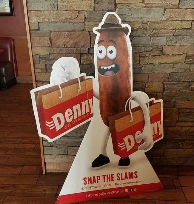 Denny's Crappy Mascot is listed (or ranked) 1 on the list 29 Brands That Tried Way Too Hard... and Failed