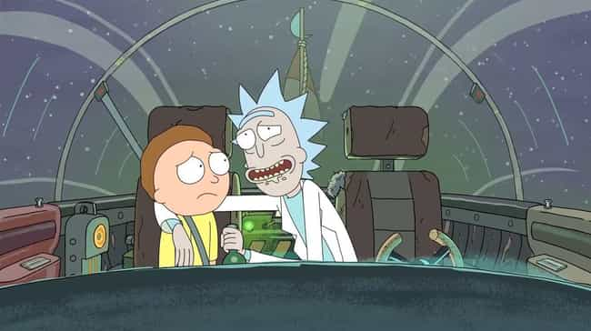 W-W-W-What's Up With All The S... is listed (or ranked) 3 on the list This Fan Theory Will Have You Convinced That Rick And Morty Are The Same Person