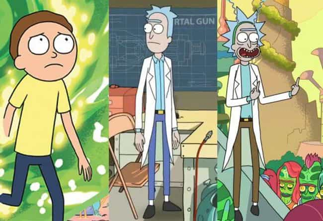 The Blue Pants Theory Also Poi... is listed (or ranked) 4 on the list This Fan Theory Will Have You Convinced That Rick And Morty Are The Same Person