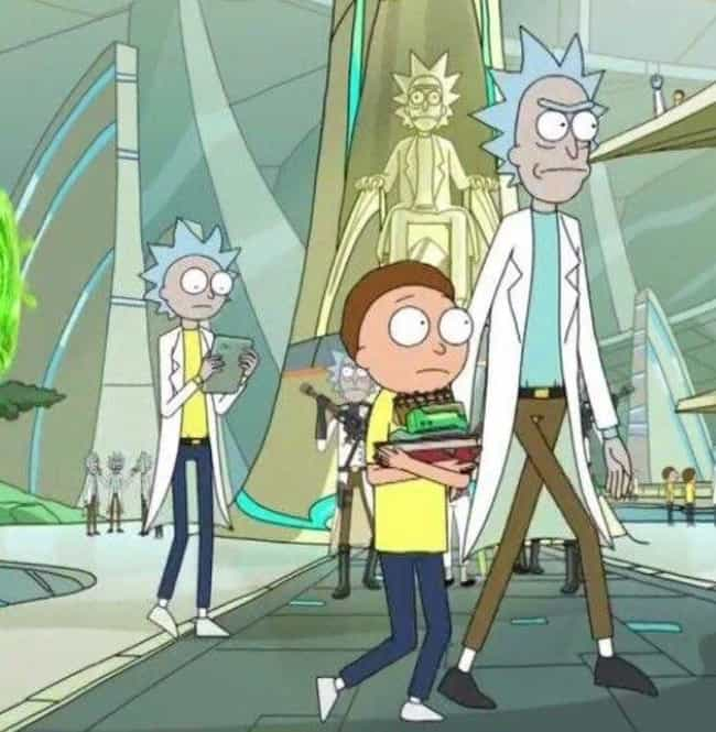 Remember That Rickless M... is listed (or ranked) 7 on the list This Fan Theory Will Have You Convinced That Rick And Morty Are The Same Person