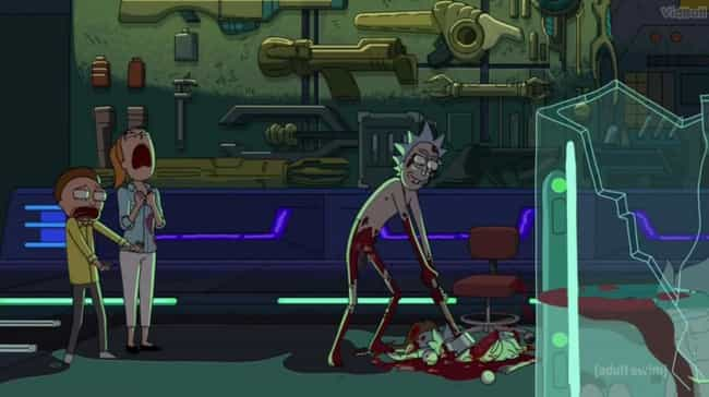 Rick Is Hard On Morty Be... is listed (or ranked) 8 on the list This Fan Theory Will Have You Convinced That Rick And Morty Are The Same Person