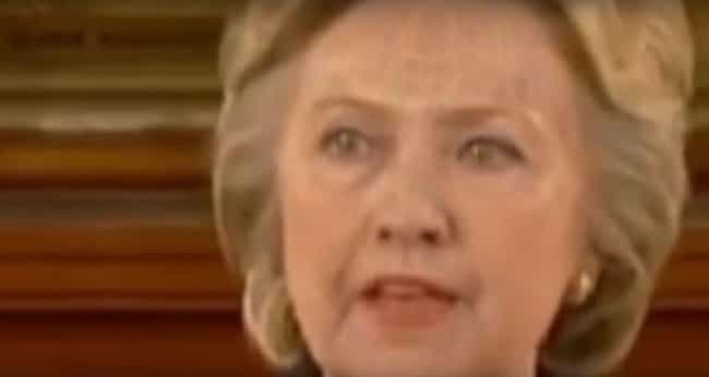 Hillary Clinton is listed (or ranked) 4 on the list Do These Creepy Photos Prove That Lizard People Actually Exist?