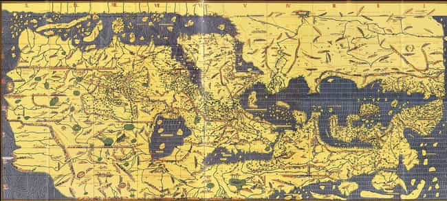 A 12th Century Muslim World As... is listed (or ranked) 3 on the list Here's What Map Makers Originally Thought The World Looked Like Throughout History