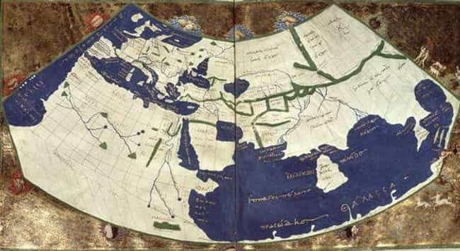An Ancient Greek Map, Rediscov... is listed (or ranked) 2 on the list Here's What Map Makers Originally Thought The World Looked Like Throughout History