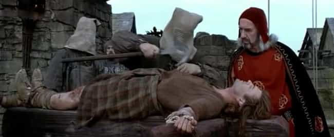 After The Disemboweling,... is listed (or ranked) 4 on the list The Brutal Story Of William Wallace's Execution That 'Braveheart' Wouldn't Show You