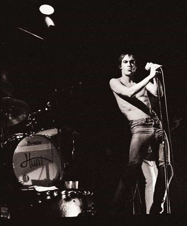 He Started Dating A Teen... is listed (or ranked) 2 on the list Bloody and Vomit-Filled Behind-The-Scenes Stories Of Iggy Pop, The Godfather Of Punk
