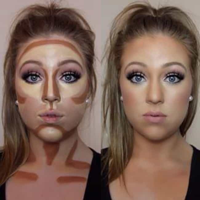 how to make your face look wider with makeup