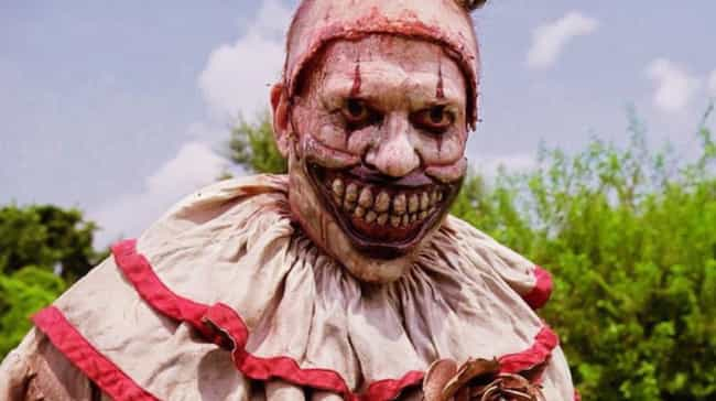 Twisty The Clown Is Back is listed (or ranked) 1 on the list All The Ways American Horror Story: Cult Connects To Previous Seasons Of The Show