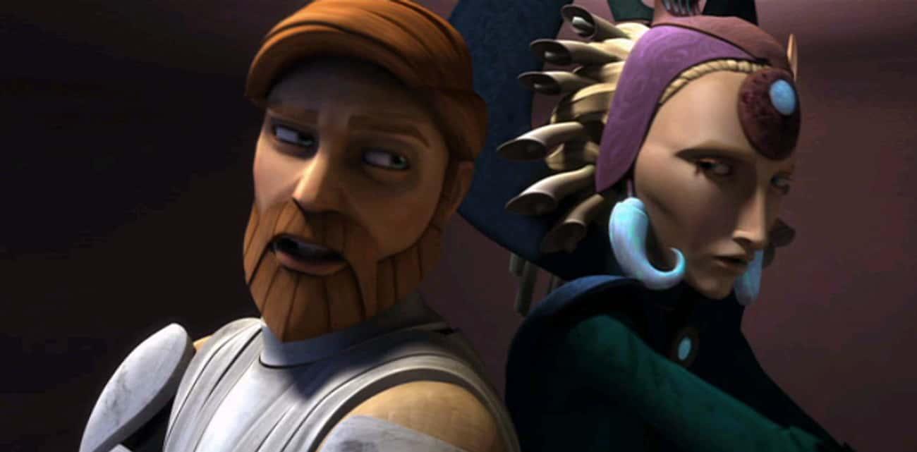 Satine And Obi-Wan Met When He Was A Padawan