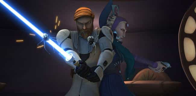 Satine's Pacifism Was Often At... is listed (or ranked) 4 on the list Obi-Wan Nearly Left The Jedi Order To Be With The Love Of His Life