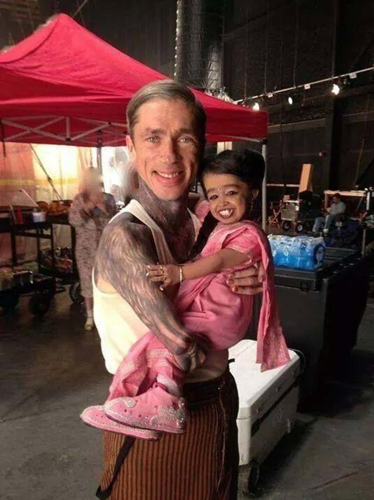 No Shortage Of Love Between Ca is listed (or ranked) 1 on the list Behind The Scenes Photos From American Horror Story You've Probably Never Seen Before