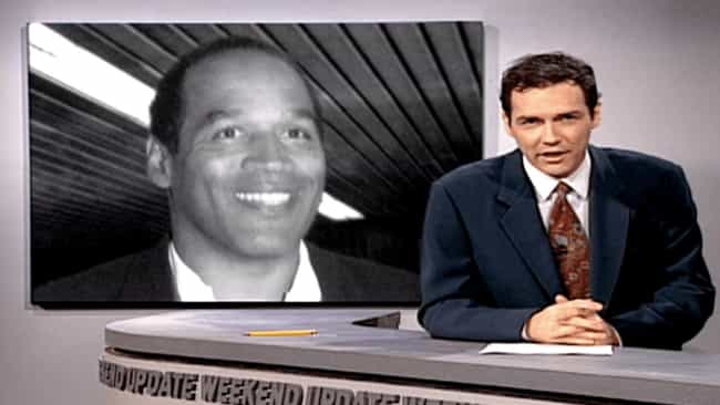 When His Constant OJ Jokes Got... is listed (or ranked) 1 on the list All The Times Norm Macdonald Torpedoed His Career