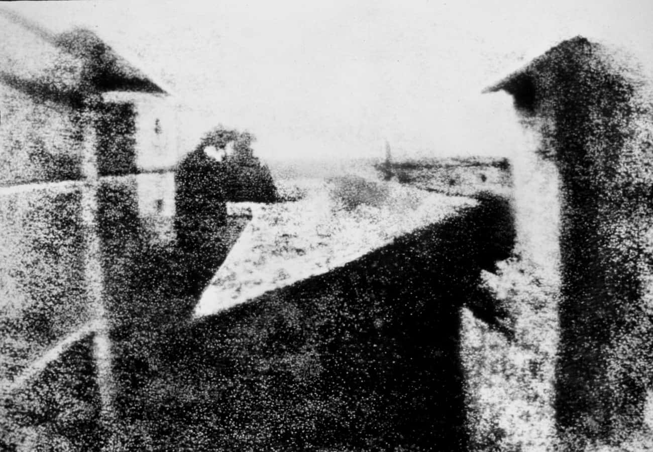 First Photograph On A Camera