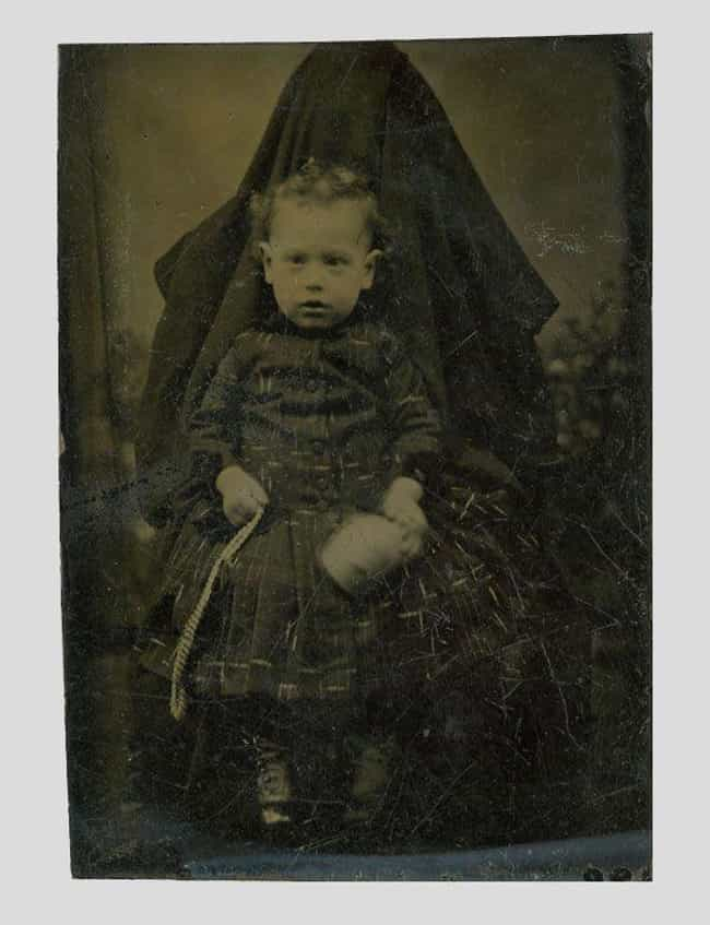 "Child Being Held By Doom Itsel... is listed (or ranked) 2 on the list The Baffling Trend of Victorian Mothers ""Hiding"" In Photos With Their Kids"