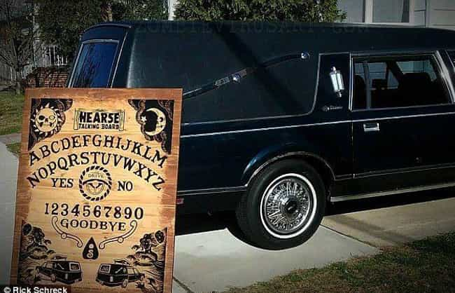 The Family Car Is A Hearse is listed (or ranked) 2 on the list This Amazing 'Real-Life Addams Family' Is The Definition Of Macabre Kinship Goals
