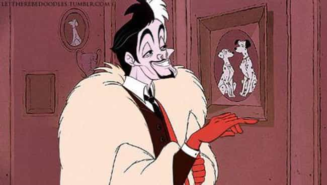 Willem Dafoe As Mr. Cruella De... is listed (or ranked) 2 on the list Genderbent Fan Art That Will Make You See Your Favorite Cartoon Characters In A Whole New Way