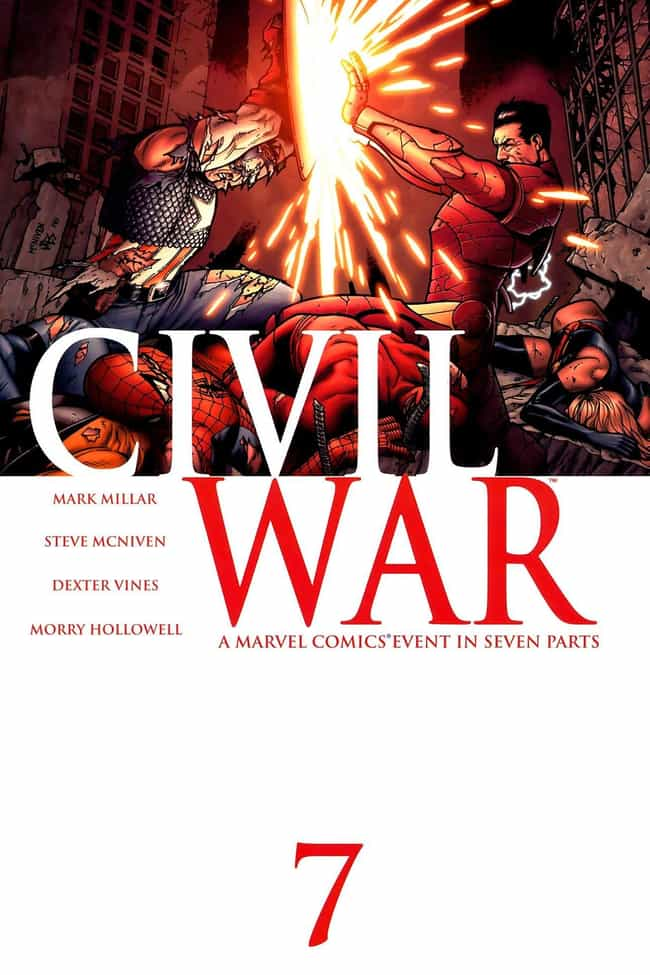 Civil War is listed (or ranked) 3 on the list The Best Captain America Storylines In Comic Books