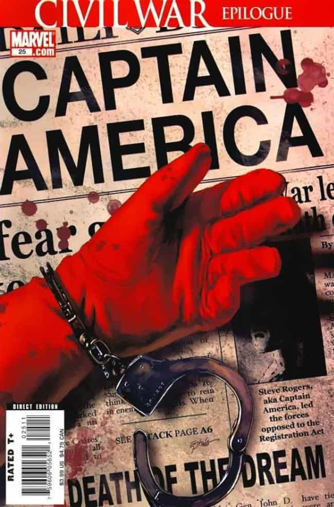 Death Of The Dream is listed (or ranked) 4 on the list The Best Captain America Storylines In Comic Books