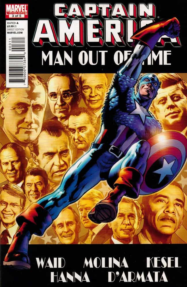 Man Out Of Time is listed (or ranked) 2 on the list The Best Captain America Storylines In Comic Books