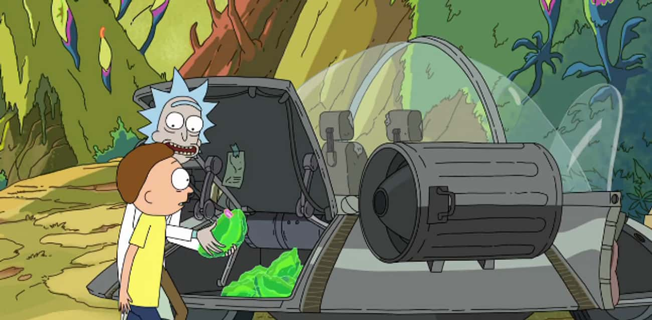 Rick Brought In The Stow-Away Parasites From Total Rickall