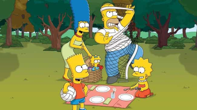 The Jokes Aren't As Comple... is listed (or ranked) 2 on the list Charting The Tragic Downfall Of The Simpsons: Why The Show Will Never Be As Good As It Used To Be